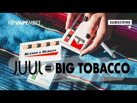 JUUL = BIG TOBACCO