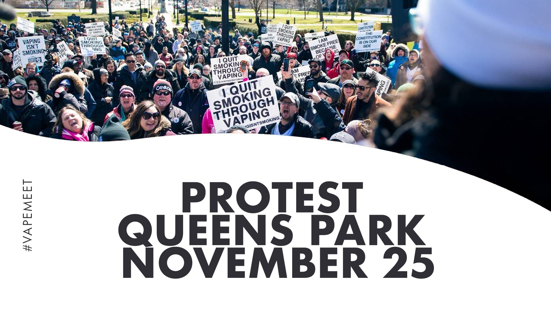 Protest Queens Park Nov 25 - 12pm -2pm