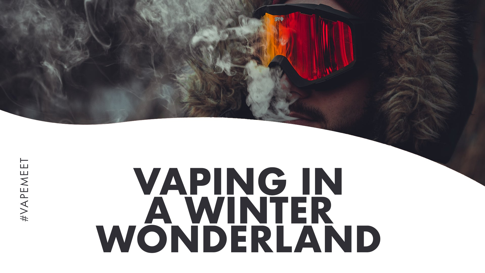 Vaping in a Winter Wonderland