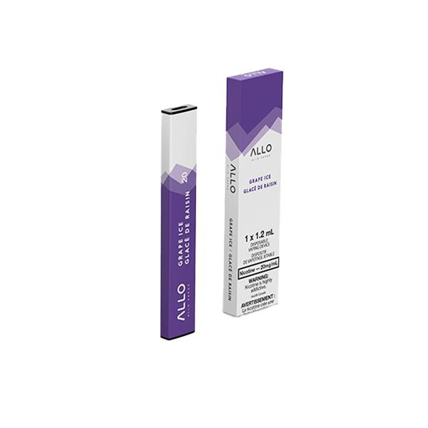 Allo Disposable - Grape Ice Pre-filled Pod Allo Disposable 20mg/mL