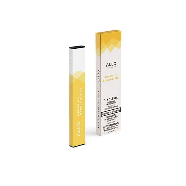 Allo Disposable - Mango Ice Pre-filled Pod Allo Disposable 20mg/mL