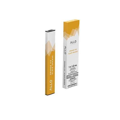 Allo Disposable - Orange Ice Pre-filled Pod Allo Disposable 20mg/mL