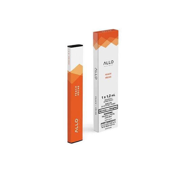 Allo Disposable - Peach Pre-filled Pod Allo Disposable 20mg/mL