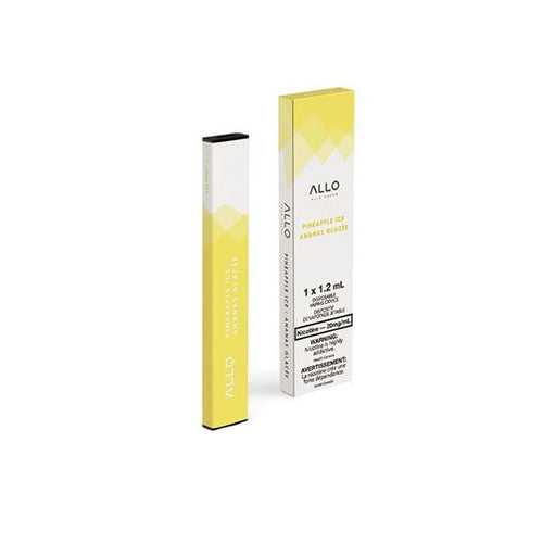 Allo Disposable - Pineapple Ice Pre-filled Pod Allo Disposable 20mg/mL