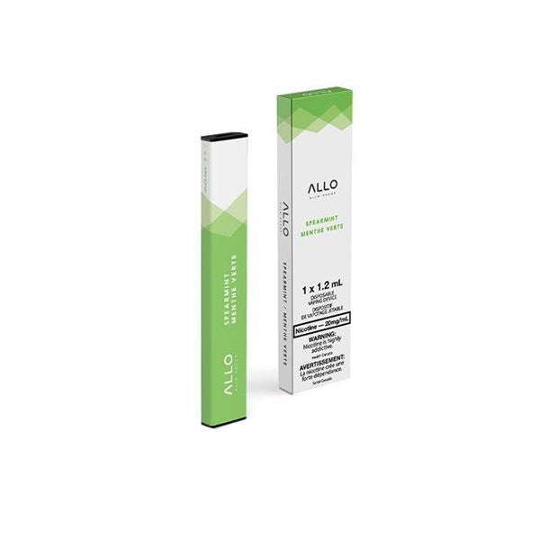 Allo Disposable - Spearmint Pre-filled Pod Allo Disposable 20mg/mL