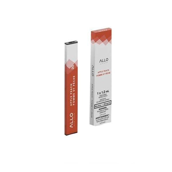 Allo Disposable - Apple Peach Disposable Allo Disposable 20mg/mL