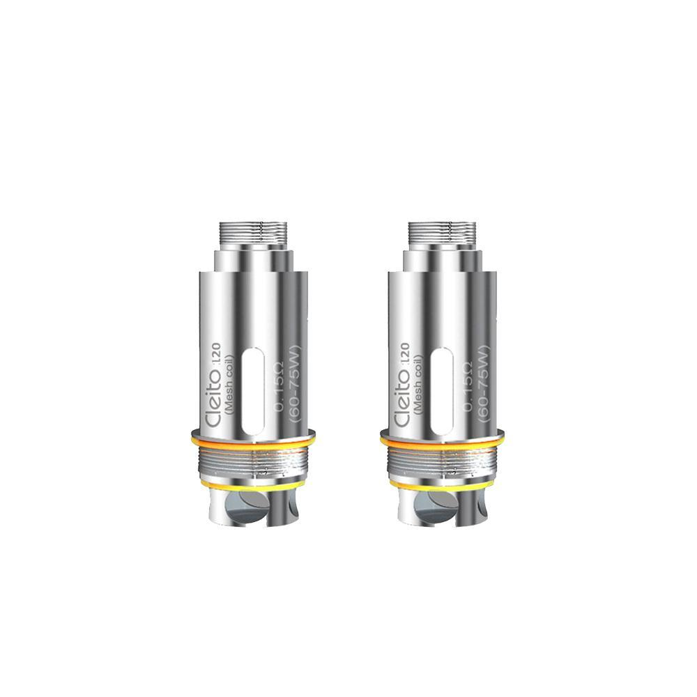 Aspire - Cleito 120 Replacement Coils (5 Pack) Replacement Coil Aspire 0.16 ohm
