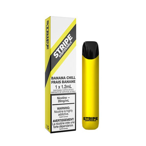 Stripe Disposable - Banana Chill Disposable Stripe Disposable 20mg/mL