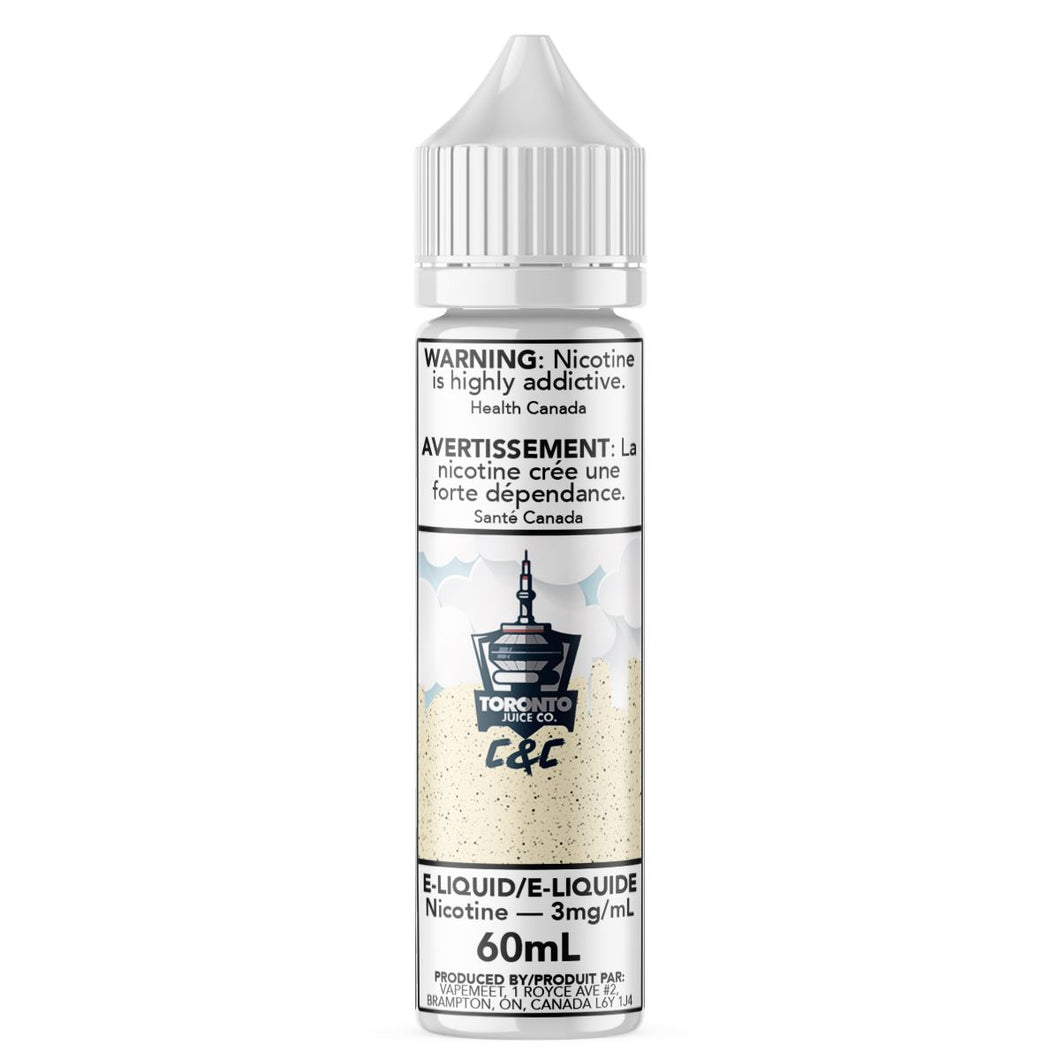 Toronto Juice Co. - C&C E-Liquid Toronto Juice Co. 60mL 0 mg/mL