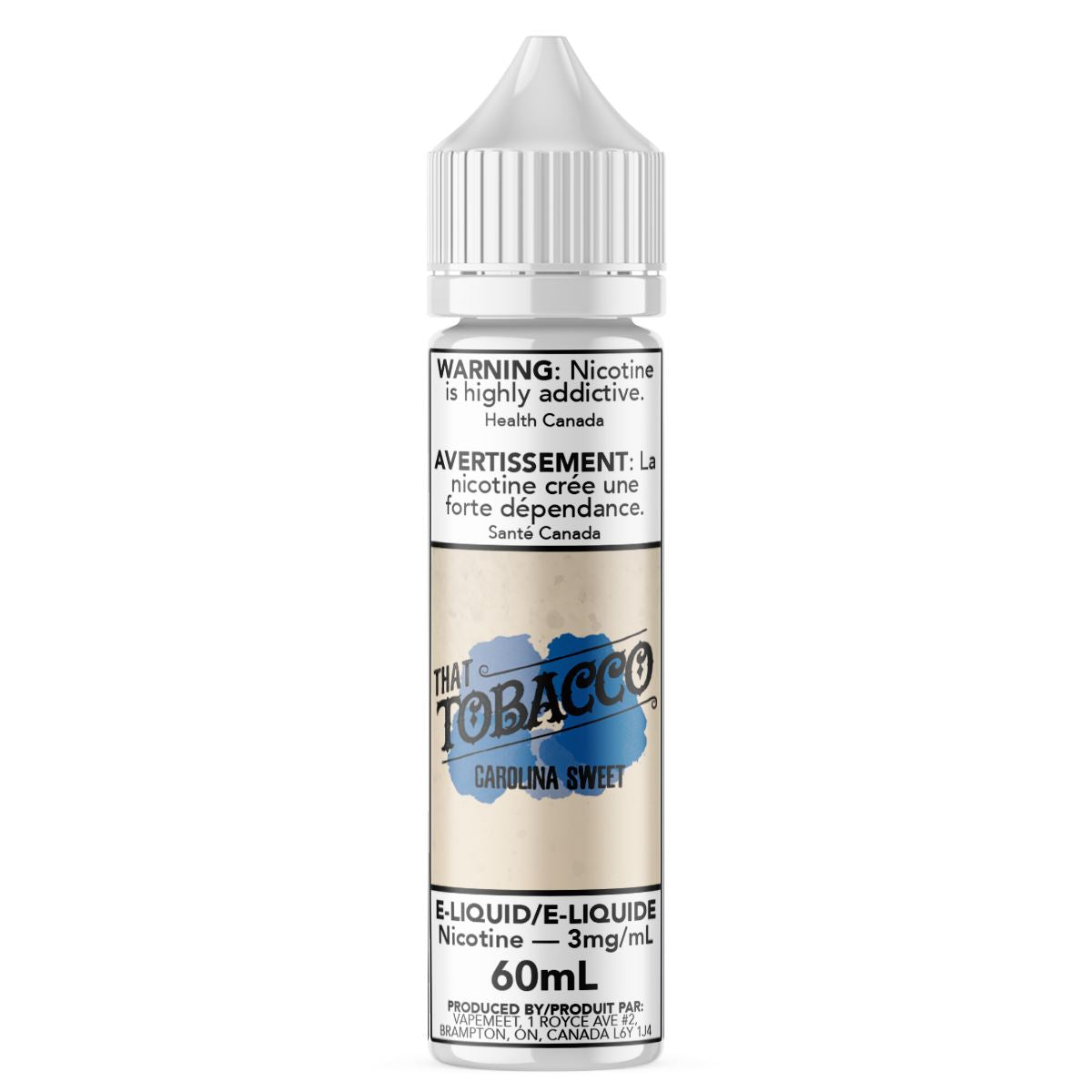 That Tobacco - Carolina Sweet E-Liquid That Tobacco 60mL 0 mg/mL