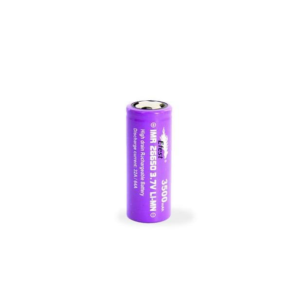 Efest - Purple 26650 3500mAh 64A Battery Battery Efest