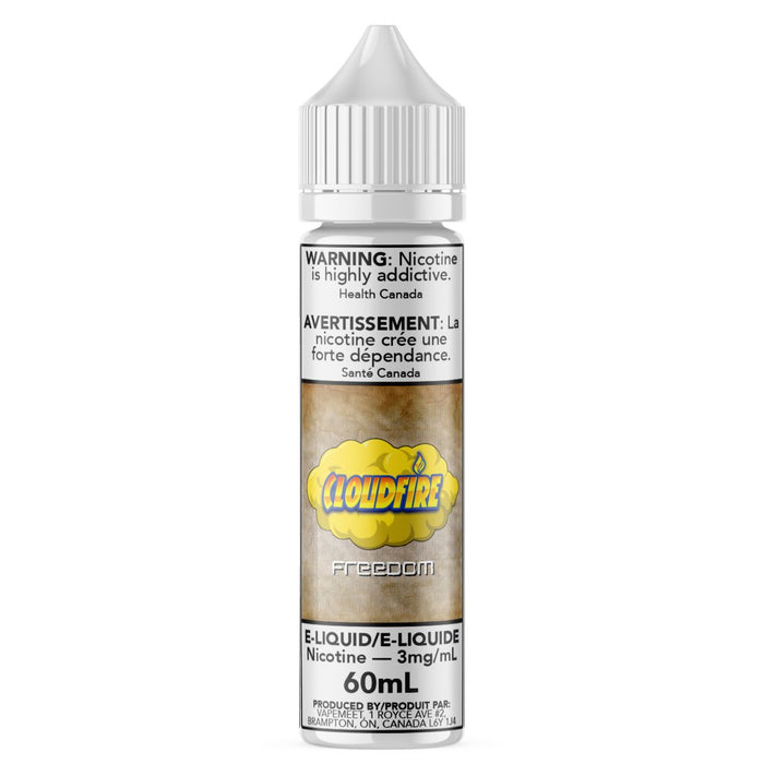Cloudfire - Freedom E-Liquid Cloudfire 60mL 0 mg/mL