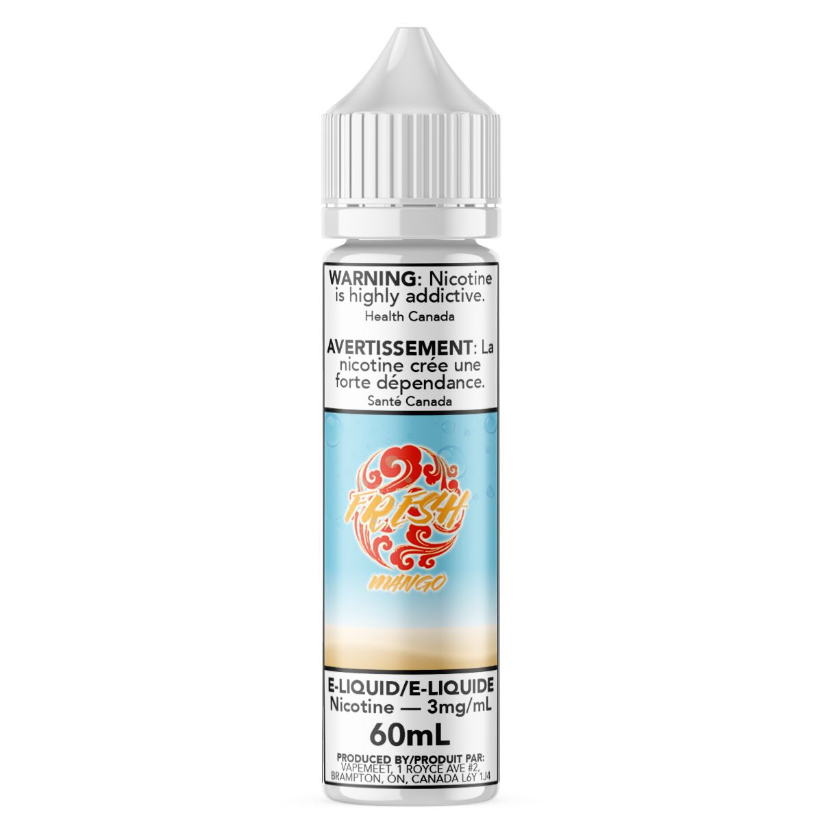 Fresh - Mango E-Liquid Fresh 60mL 0 mg/mL