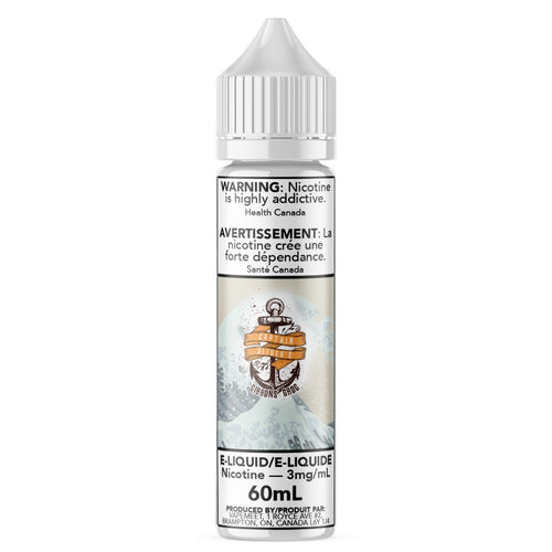 Captain Oliver's - Gibbons' Grog E-Liquid Captain Oliver's Custards & Puddings 60mL 0 mg/mL