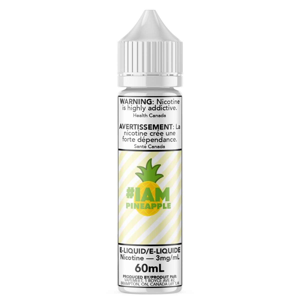 #IAM - Pineapple E-Liquid #IAM 60mL 0 mg/mL