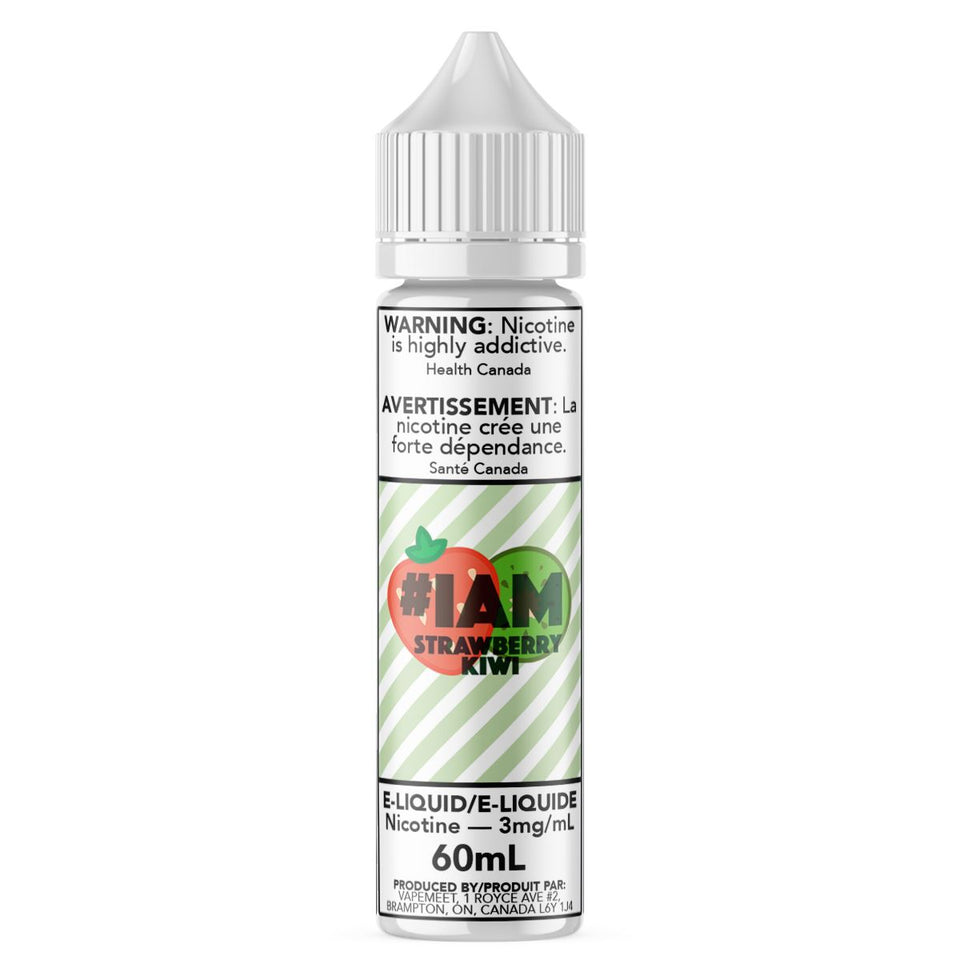 #IAM - Strawberry Kiwi E-Liquid #IAM 60mL 0 mg/mL