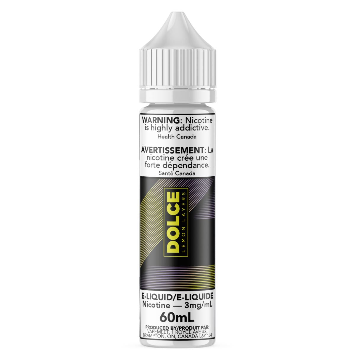 Dolce - Lemon Layers E-Liquid Dolce 60mL 0 mg/mL