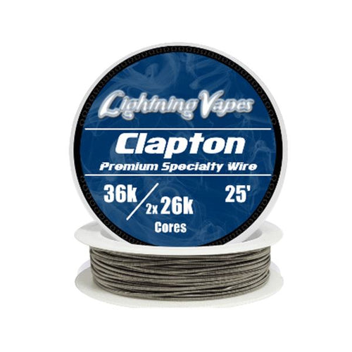 Lightning Vapes - Clapton Wire (25 feet) Wire Lightning Vapes