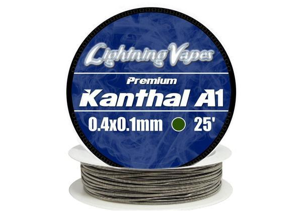 Lightning Vapes - Kanthal A-1 Flat (Ribbon Wire) Wire Lightning Vapes