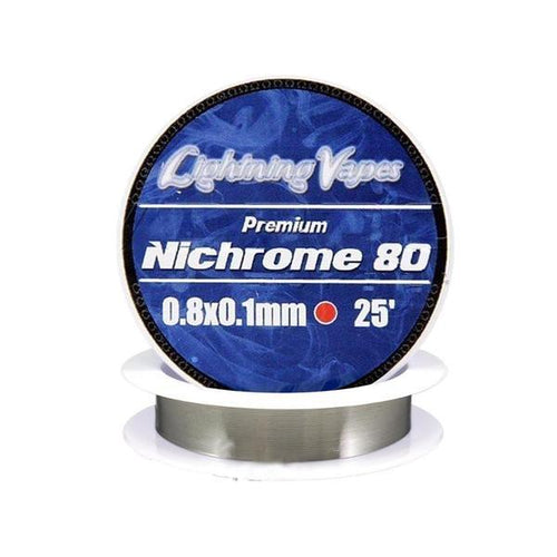 Lightning Vapes - Nichrome 80 Ribbon Flat Wire Wire Lightning Vapes
