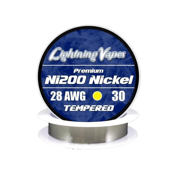 Lightning Vapes - Pure Nickel Wire Ni200 (NON RESISTANCE) Wire Lightning Vapes