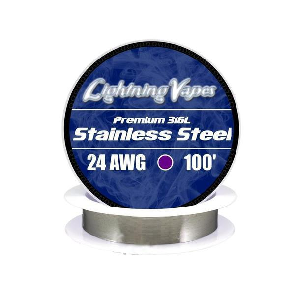 Lightning Vapes - Stainless Steel Wire 316L Wire Lightning Vapes