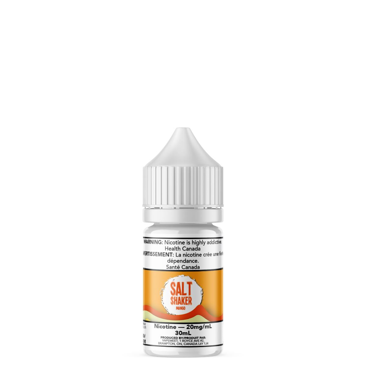 Salt Shaker - Mango E-Liquid Salt Shaker 30mL 20 mg/mL
