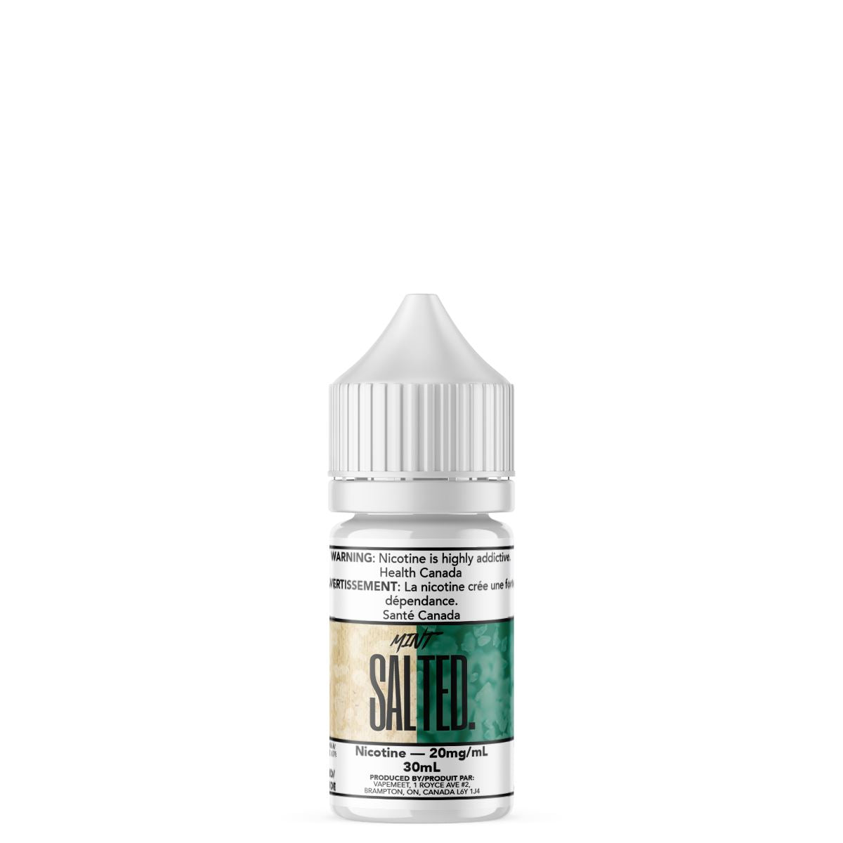 Salted. - Mint E-Liquid Salted. 30mL 20 mg/mL