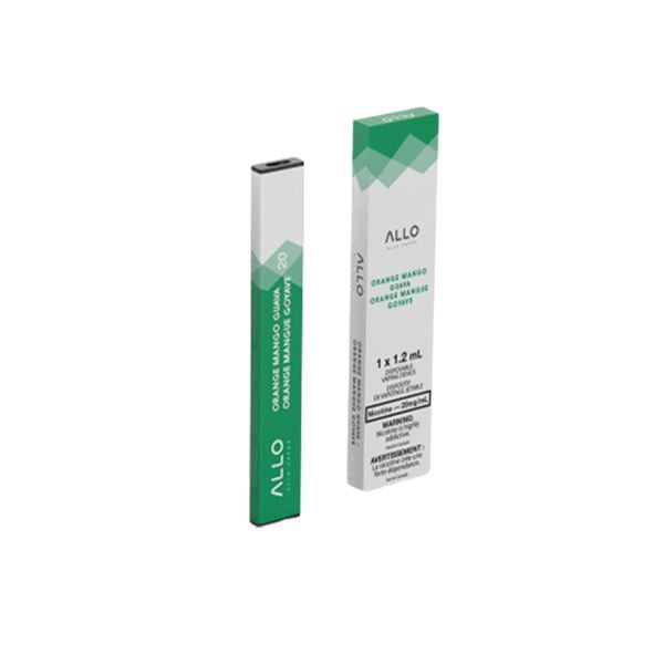Allo Disposable - Orange Mango Guava Disposable Allo Disposable 20mg/mL