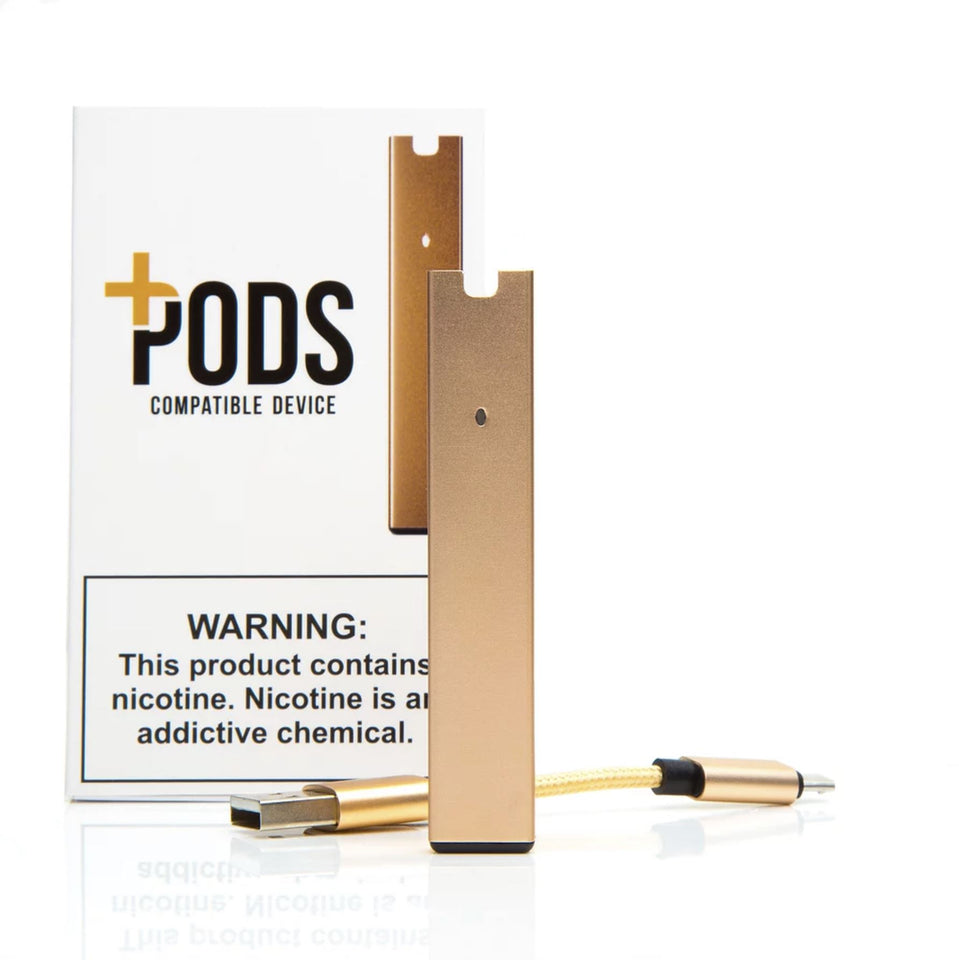 Plus Pods - Portable Smoking Device Pod System Plus Pods Rose Gold