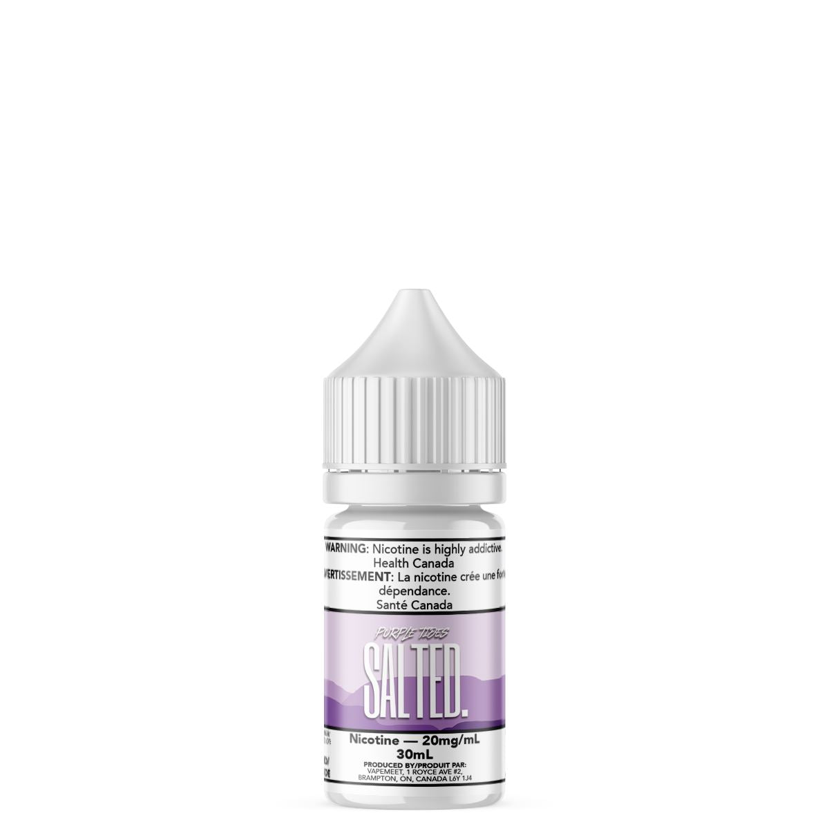Salted. - Purple Tides E-Liquid Salted. 30mL 20 mg/mL