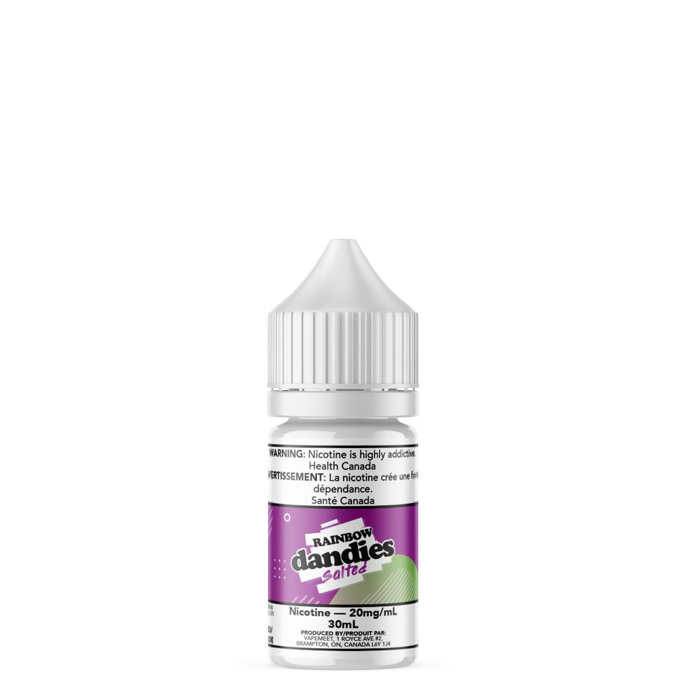 Dandies Salted - Rainbow E-Liquid Dandies Salted 30mL 20 mg/mL