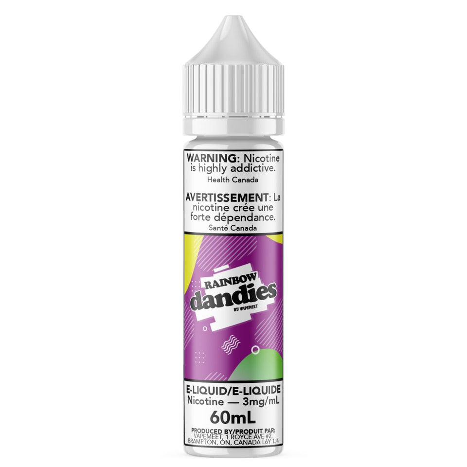Dandies - Rainbow E-Liquid Dandies 60mL 0 mg/mL