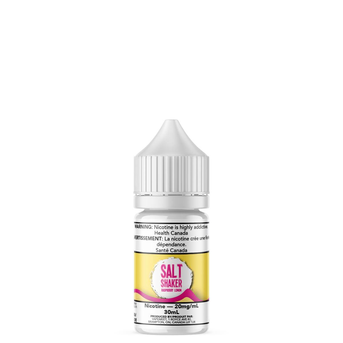 Salt Shaker - Raspberry Lemon E-Liquid Salt Shaker 30mL 20 mg/mL