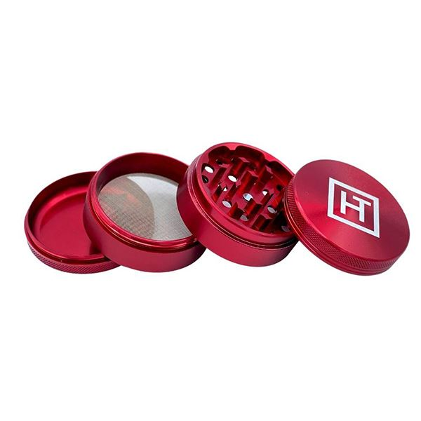 Hotbox - 63mm Metal Grinder Grinder Hotbox Red