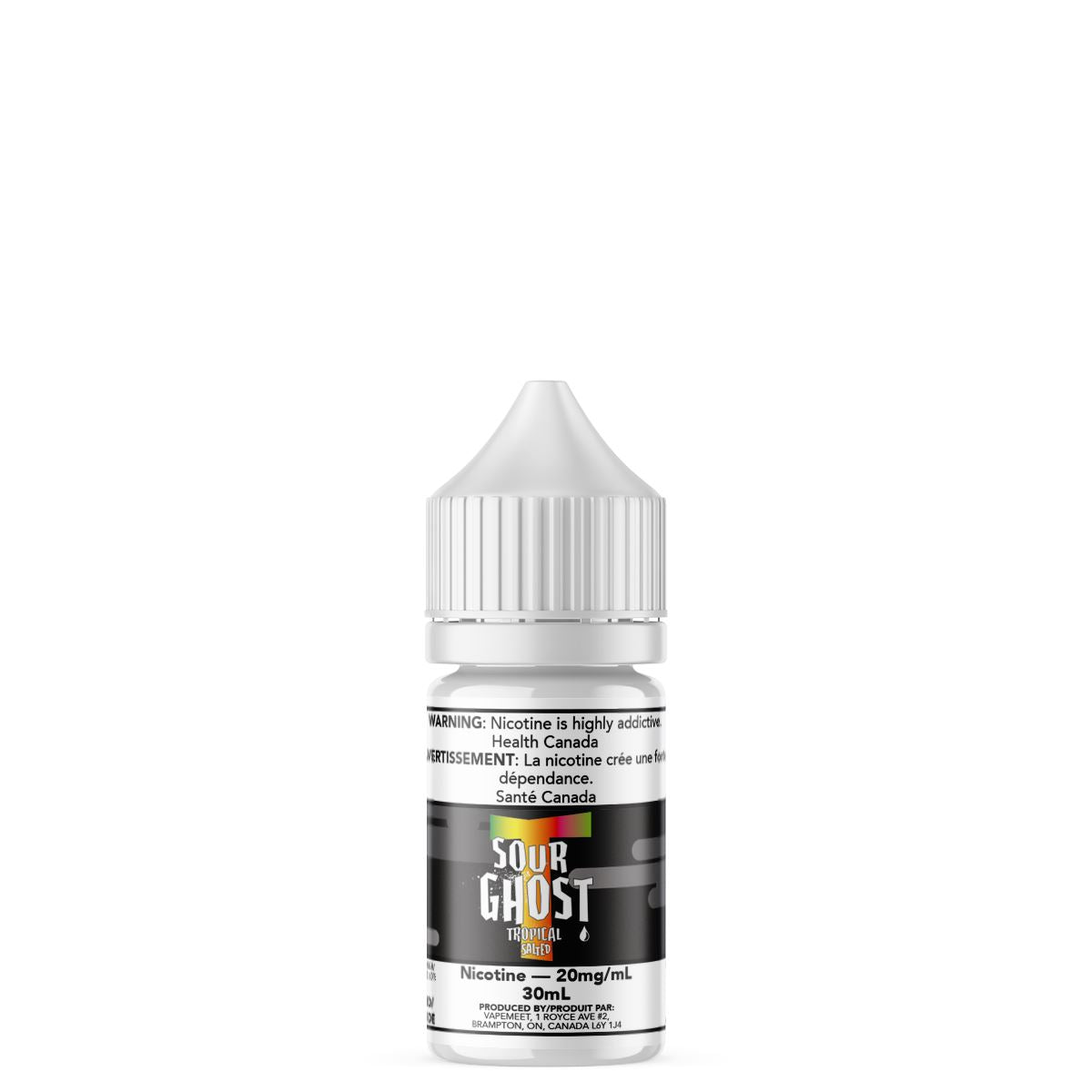 Ghosted Salted - Sour Ghost Tropical E-Liquid Ghosted Salted 30mL 20 mg/mL