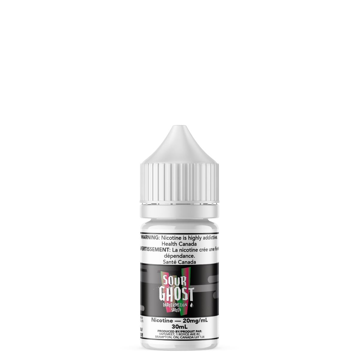Ghosted Salted - Sour Ghost Watermelon E-Liquid Ghosted Salted 30mL 20 mg/mL