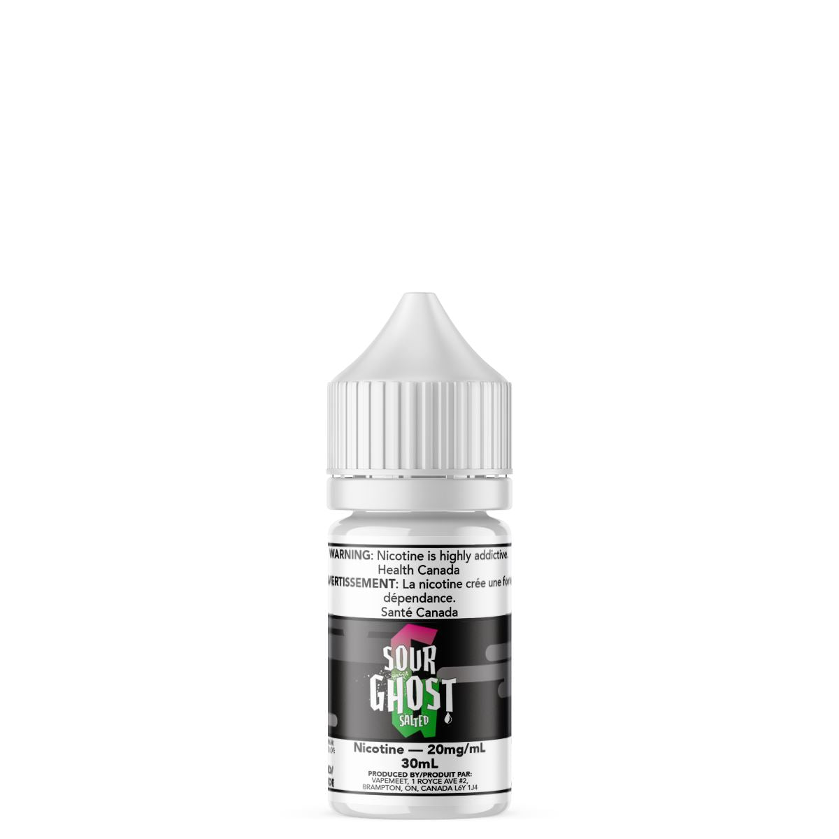 Ghosted Salted - Sour Ghost E-Liquid Ghosted Salted 30mL 20 mg/mL