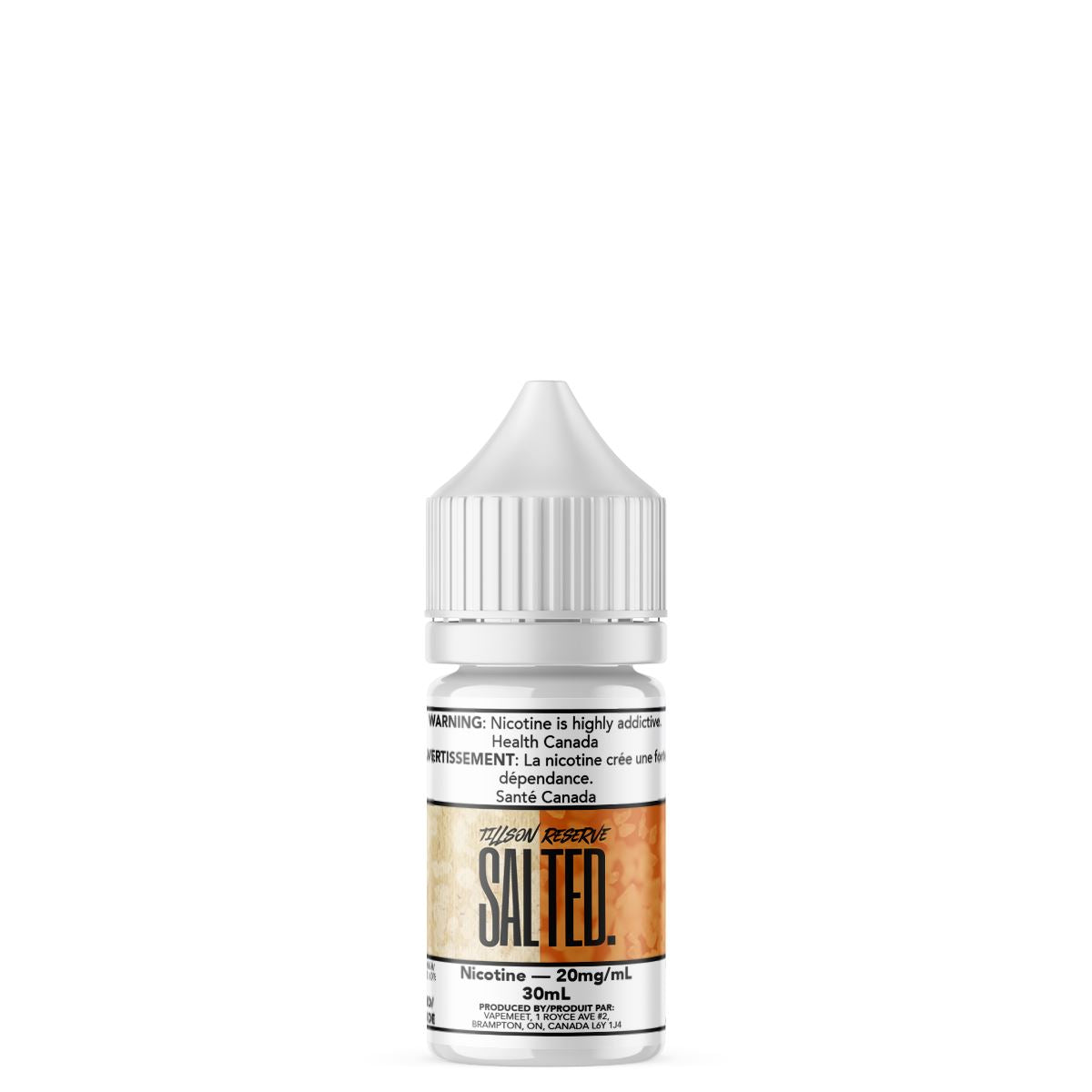 Salted. - Tillson Reserve E-Liquid Salted. 30mL 20 mg/mL