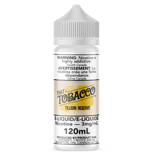 That Tobacco - Tillson Reserve E-Liquid That Tobacco 120mL 0 mg/mL