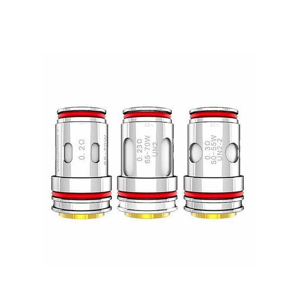Uwell - Crown 5 Replacement Coils (4 Pack) Replacement Coil Uwell 0.2 ohm