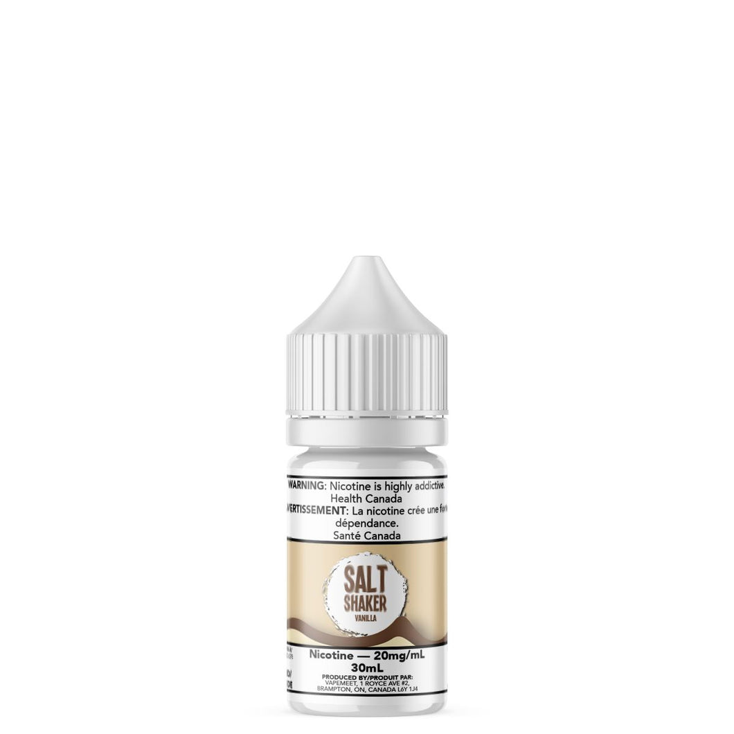 Salt Shaker - Vanilla E-Liquid Salt Shaker 30mL 20 mg/mL