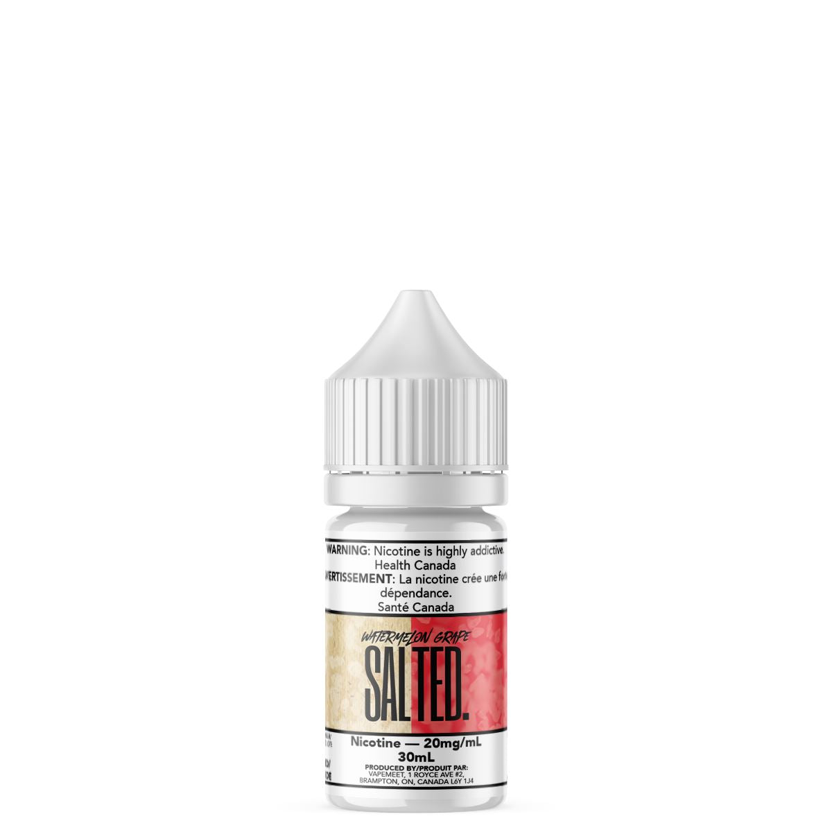 Salted. - Watermelon Grape E-Liquid Salted. 30mL 20 mg/mL