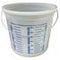Midwest Rake Mix & Measure Container-Clear Printed Measurements On Outside