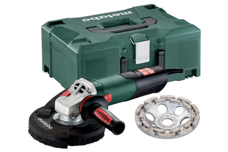 "Metabo 4.5/5"" Concrete Grinder Set-Shroud-Wheel Included"