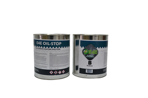 E4E-Oil Stopping Epoxy-Two Component Solvent Based Epoxy Coating