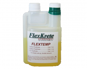 FlexTemp-Quickens Cure Time-Use At Freezing Temperatures- 5oz for 5 Gallon