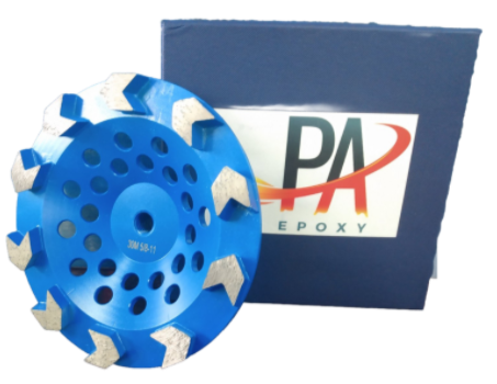 "Pa Epoxy 7"" Arrow Cup Wheel-Diamond Grinding Cup Wheel- Wet Or Dry Use"