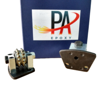 Pa Epoxy Bush Hammer Trapezoid Trap-30 Teeth.  Breaks Up Concrete Quick Coating Removal