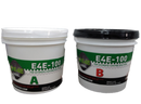 E4E-100 Epoxy-Two Component Self-Leveling Coating-Glossy- 3 Gallon Kit